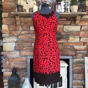 Taylor boat neck dress size 2